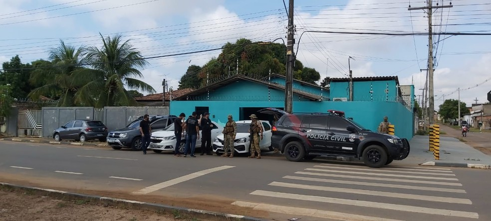 """A operação """"Êxodo 23:16"""" também é deflagrada em São Paulo, onde deve ser cumprido um mandado de busca e apreensão. — Foto: Divulgação/Polícia Civil de Roraima"""