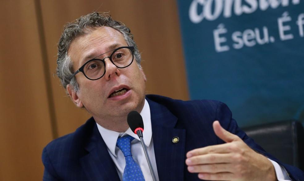Luciano Timm, secretário nacional do consumidor, põe cargo à disposição após saída de Moro do Ministério da Justiça — Foto: José Cruz/Agência Brasil