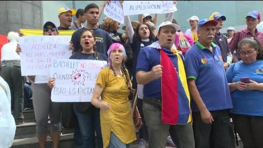 Venezuela tem protesto contra o governo no dia da independência