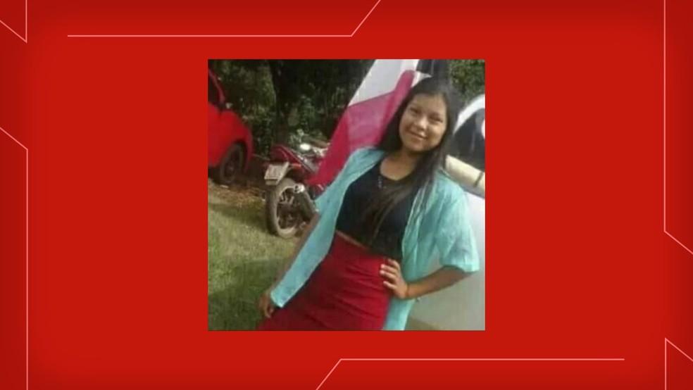 Daiane Sales, de 14 anos, foi morta em Redentora — Foto: Reprodução