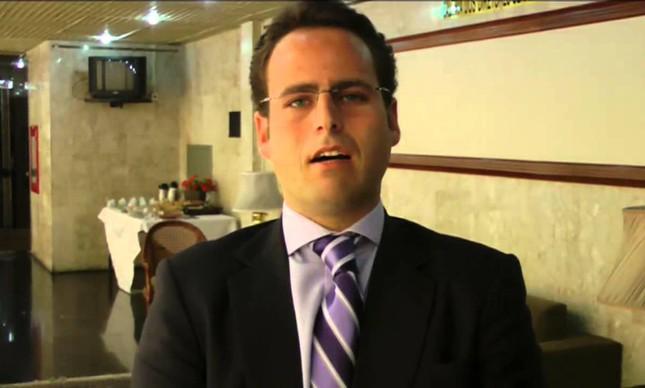 O advogado Rodrigo Fux, filho do ministro Luiz Fux