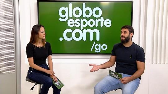 """Ney Franco mantém discurso otimista no Goiás: """"Nossa fala é olhar para os times da frente"""""""