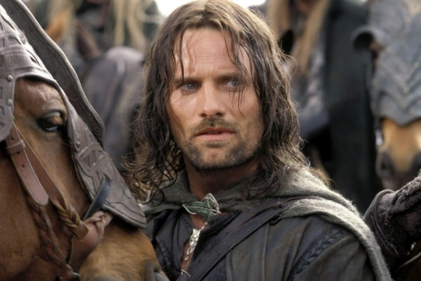 O ator Viggo Mortensen em O Senhor dos Anéis - As Duas Torres (2002) (Foto: Reprodução)