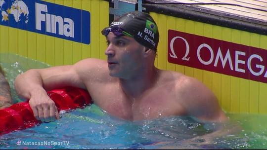 Nicholas Santos é bronze nos 50m borboleta masculino no Mundial de Esportes Aquáticos