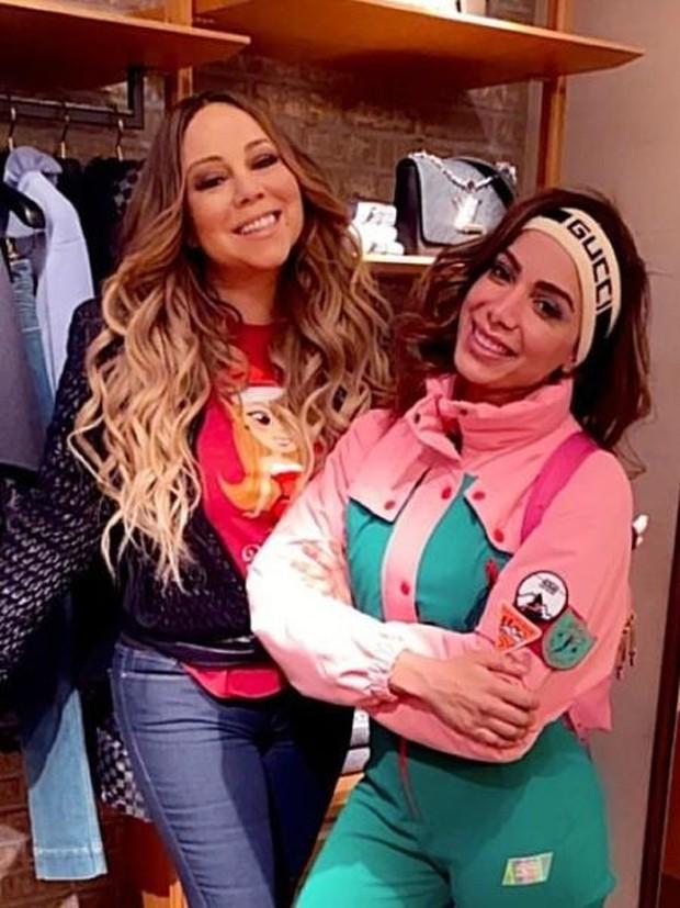 Anitta e Mariah Carey (Foto: Reprodução)
