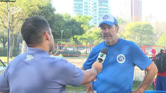"""Hugo de León aponta sequência de Tabárez para o sucesso: """"Será duro enfrentar o nosso time"""""""
