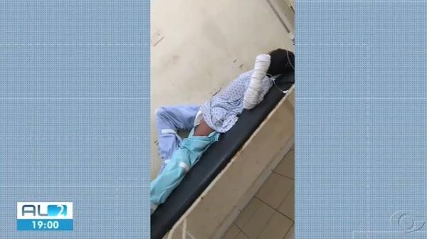 Criança que teve 40% do corpo queimado após explosão de celular morre no HGE, em Maceió