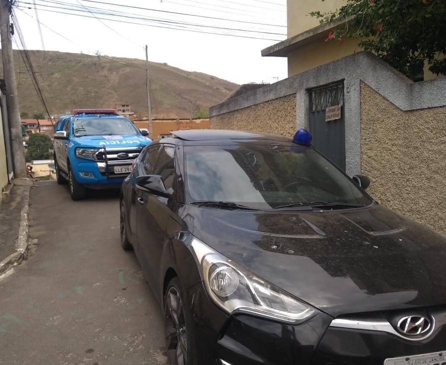 Traficante do Rio de Janeiro é preso no bairro Grotão, em Paraíba do Sul - Notícias - Plantão Diário