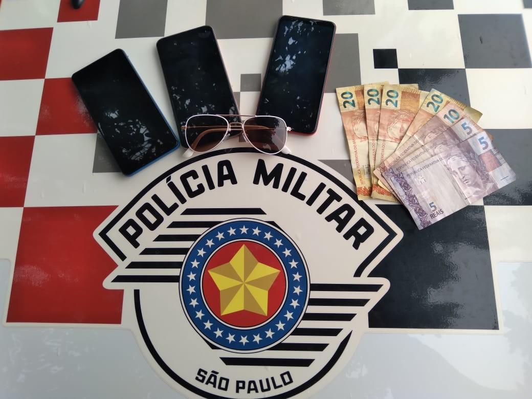 Adolescentes são detidos suspeitos de furtar celulares, dinheiro e óculos de residência em Osvaldo Cruz
