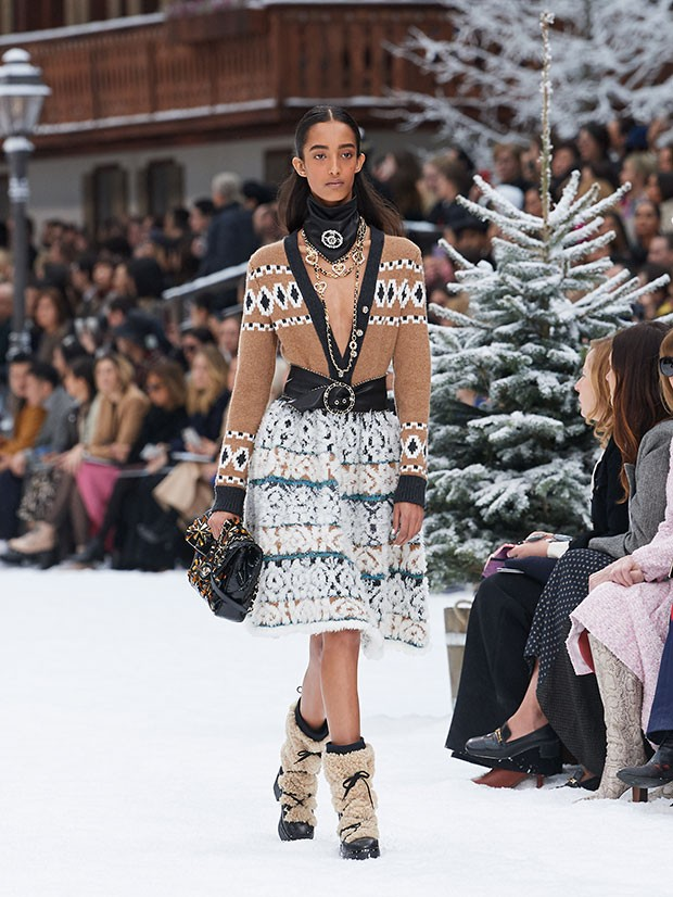 Última coleção de Karl Lagerfeld para a Chanel (Foto: Olivier Saillant)