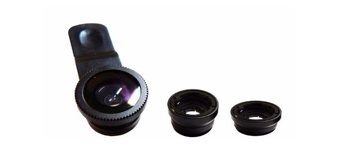 Kit com três lentes promete turbinar a câmera do seu Android (Foto: Divulgação)