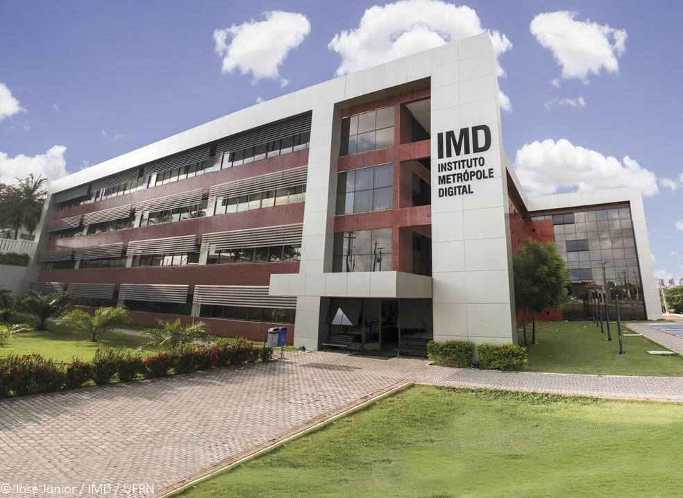 Instituto Metrópole Digital (IMD), na UFRN  — Foto: José Júnior/IMD