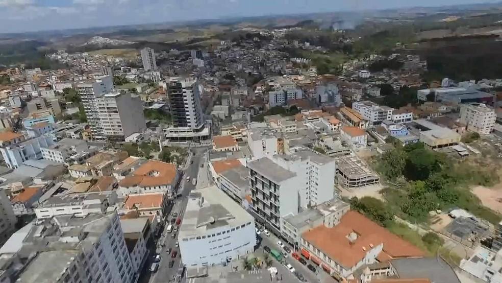 Município de Barbacena — Foto: TV Integração/Reprodução