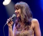 Sabrina Parlatore durante show no Tom Jazz, em São Paulo | Náira Messa