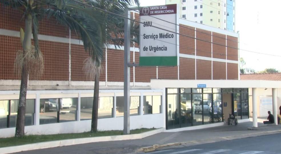 Santa Casa de São Carlos — Foto: Reprodução/EPTV