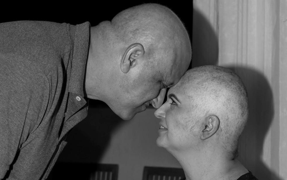 Marido e mulher descobrem e enfrentam juntos o câncer em Ribeirão Preto — Foto: Marcella Cupaiuolo