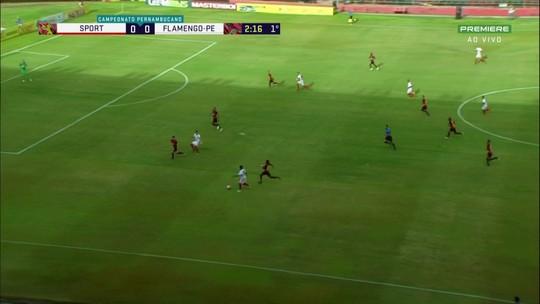 """Milton Cruz minimiza peso da derrota do Sport na estreia: """"Time em preparação"""""""