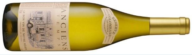 O Sauvignon Blanc Anciens Tempos Colombard