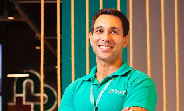 Vander Corteze, CEO e fundador da Beep Saúde