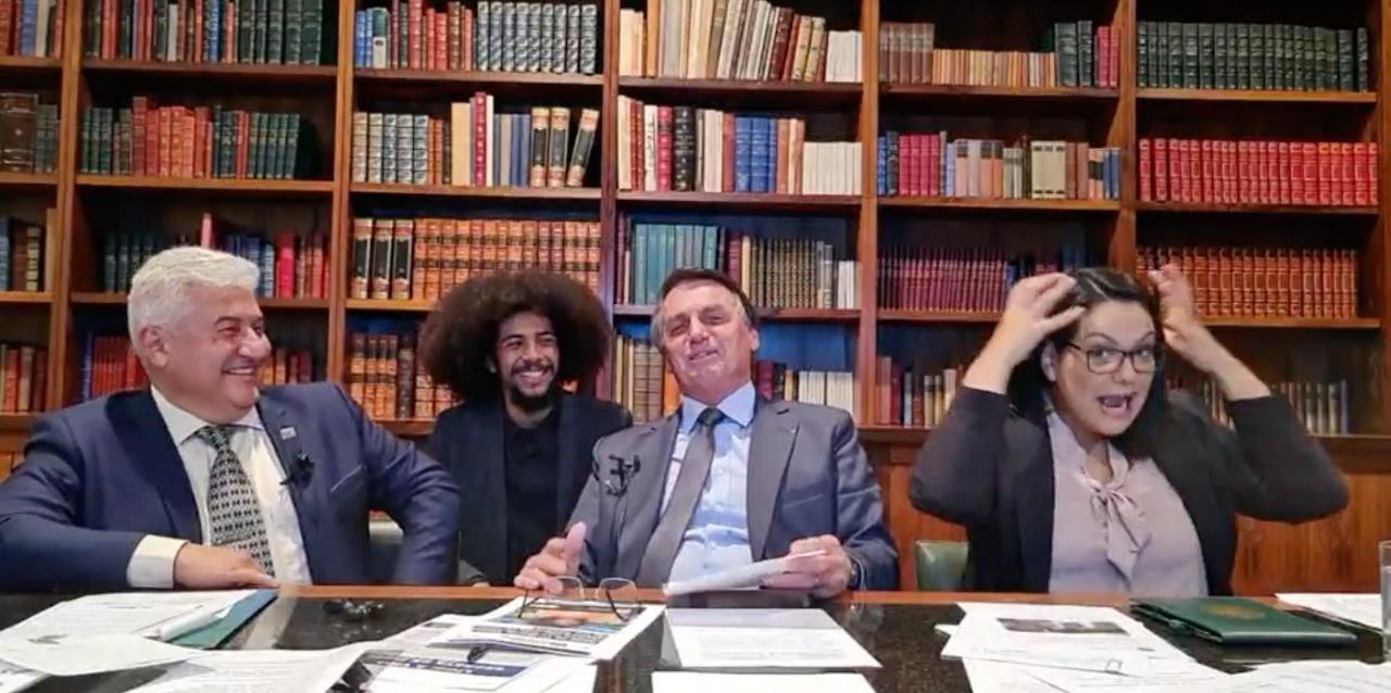 MPF-RS e Defensoria Pública da União entram com ação contra Bolsonaro por falas racistas