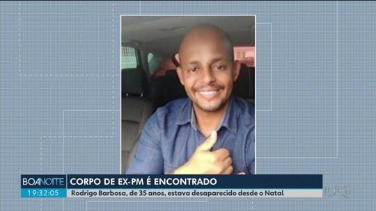 Corpo de ex-PM que era considerado desaparecido é encontrado em área rural de São José dos Pinhais