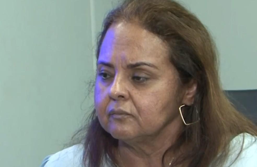 Secretária Rosilene Sertão nega que áudio teve intuito de intimidar categoria — Foto: Reprodução/TV Oeste