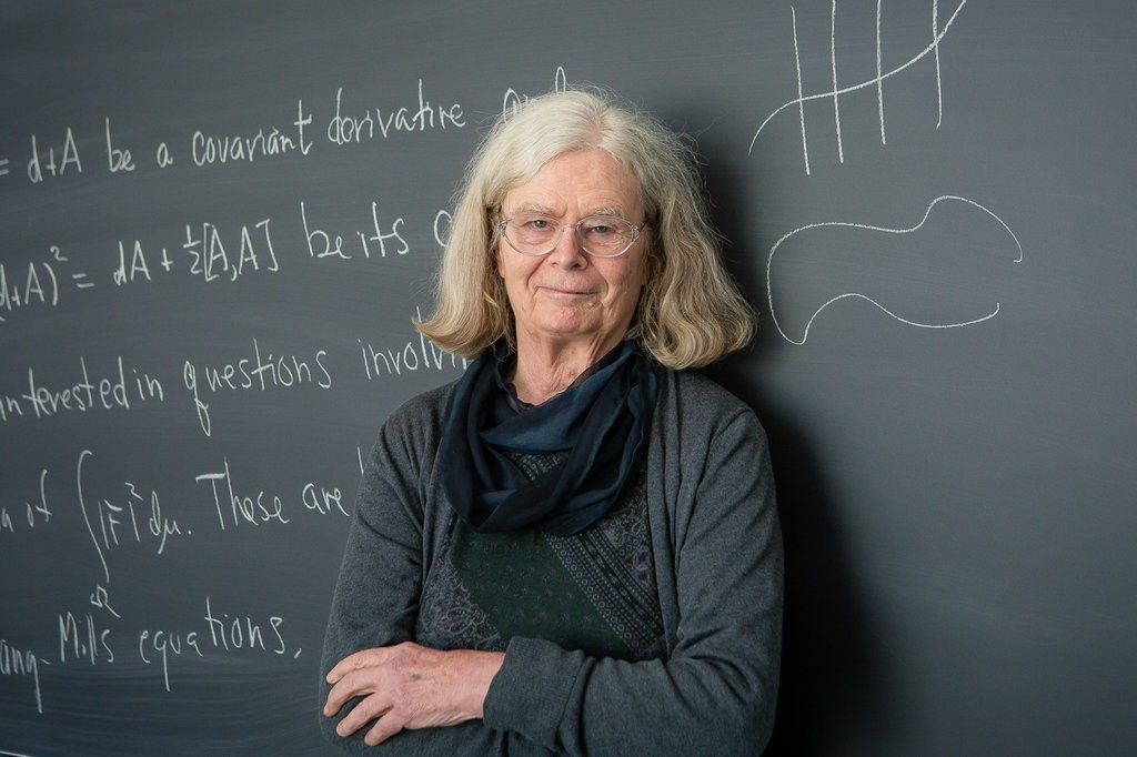 A matemática Karen Uhlenbeck, vencedora do Prêmio Abel 2019 (Foto: Andrea Kane/Institute for Advanced Study)