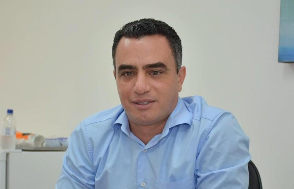 Prefeito André Maia, suspeito de desviar verbas públicas do interior do AC, continua preso — Foto: Arquivo pessoal