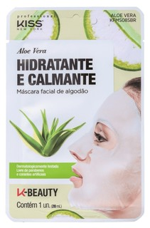 Máscara de Aloe Vera, R$ 20, Kiss New York