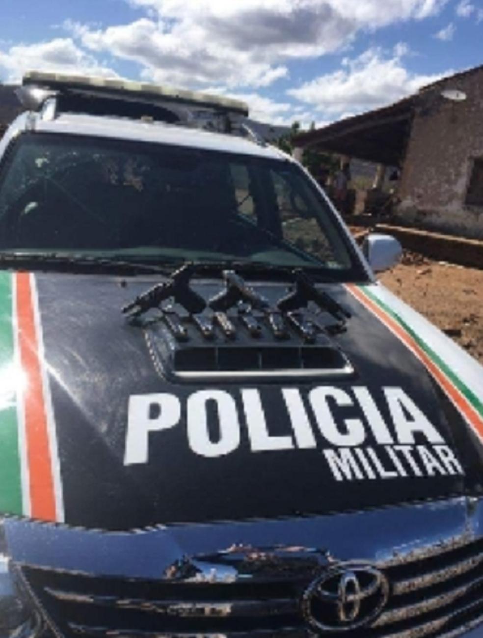 Com o preso, foram apreendidas três armas de fogo. (Foto: SSPDS/Divulgação)