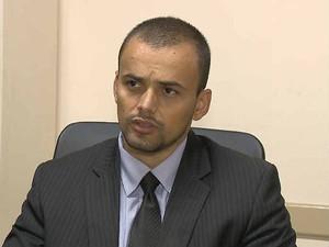 Delegado Tóxicos e Homicídios Viçosa Felipe Fonseca  (Foto: Reprodução/ TV Integração)