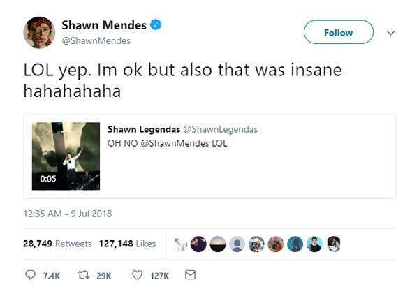 Shawn Mendes (Foto: Twitter)