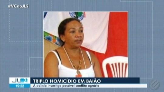 Líder rural no PA, Dilma Silva é uma das vítimas de triplo homicídio em assentamento