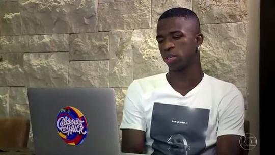 Vinicius Jr. comenta a final da Copa do Mundo e o futuro da Seleção Brasileira