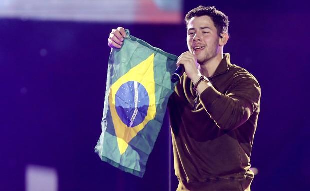 Nick Jonas (Foto: Brazil News / Manuela Scarpa)