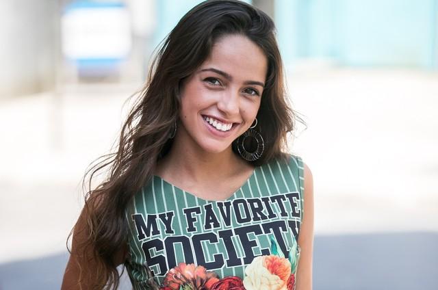 Clara Duarte (Foto: TV Globo/Raquel Cunha)