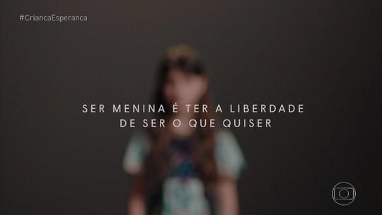 Ser menina é ter a liberdade de ser o que quiser