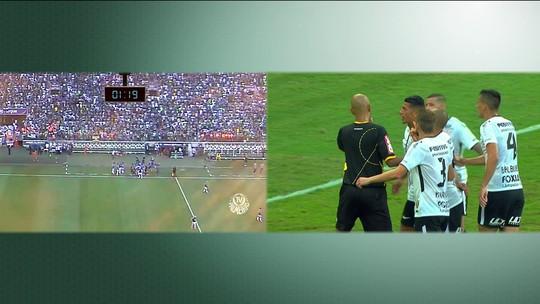 Troca sincroniza imagens da transmissão da final do Paulistão com as da TV Palmeiras