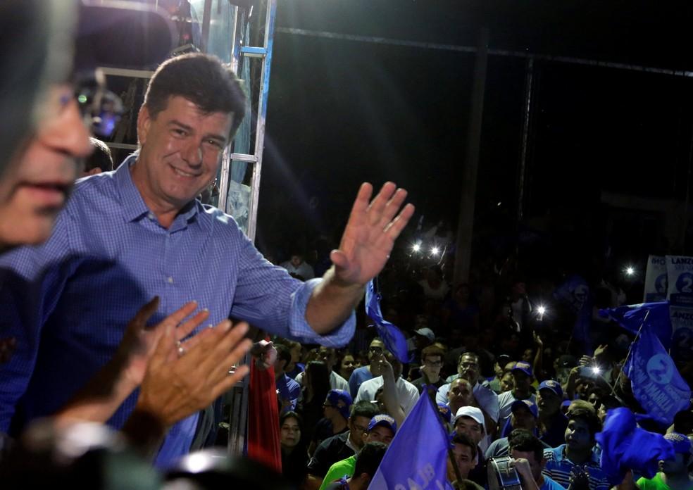 Candidato à presidência do Paraguai Efrain Alegre, do Partido Liberal (Foto:  REUTERS/Jorge Adorno)