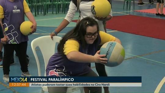 Festival Paralímpico reúne centenas de atletas em Cascavel
