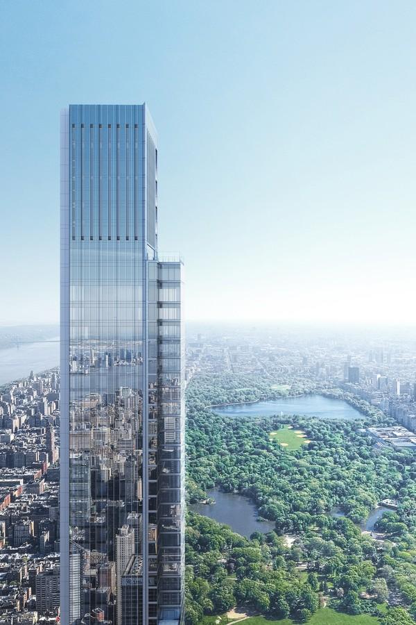Novo arranha-céu residencial mais alto do mundo ultrapassa