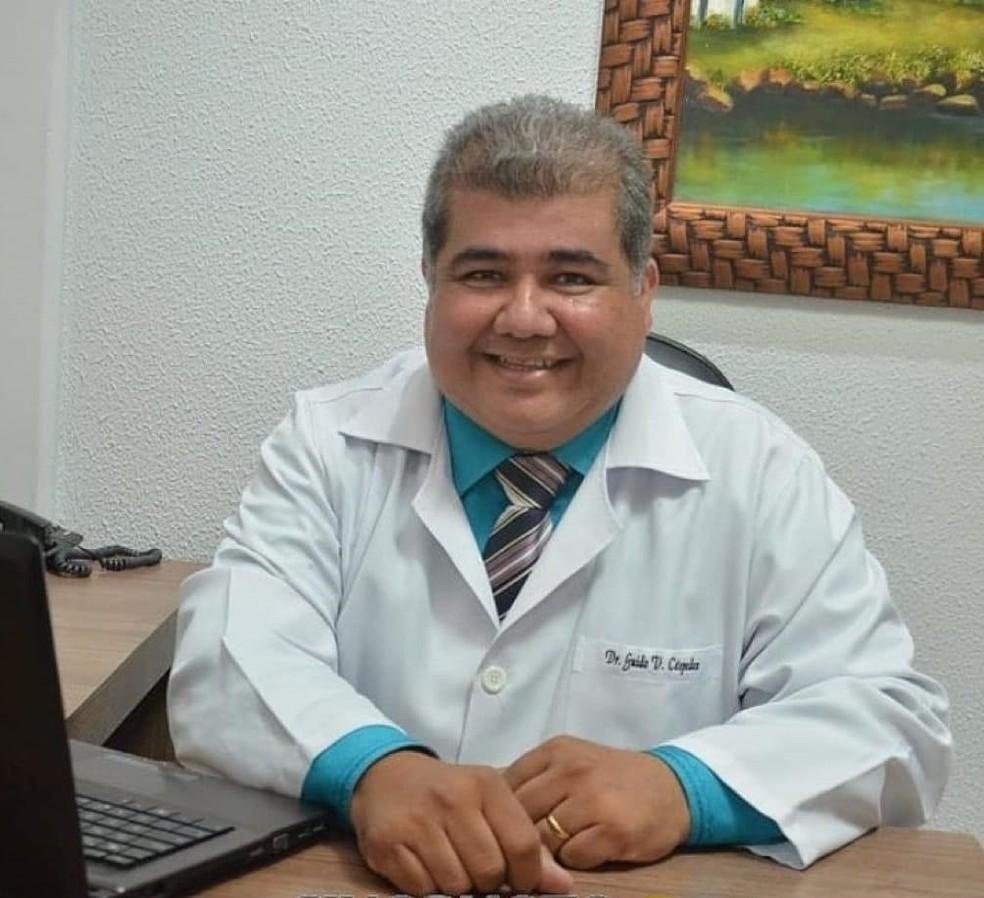 Médico Guido Céspedes, de 56 anos, morreu vítima de Covid-19 em Sinop — Foto: Divulgação