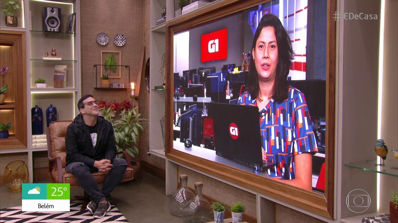 G1 no É de Casa: Santos e Robinho anunciam suspensão de contrato