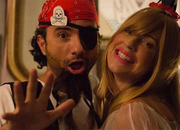 Marco Luque e Luana Piovani em cena de O Homem Perfeito (Foto: Divulgação)