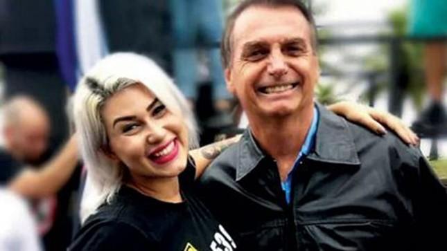 """A youtuber Sara Winter quer """"trocar socos"""" com o ministro do Supremo e incentiva """"o povo"""" a usar armas e mentiras para defender Bolsonaro contra os outros poderes"""