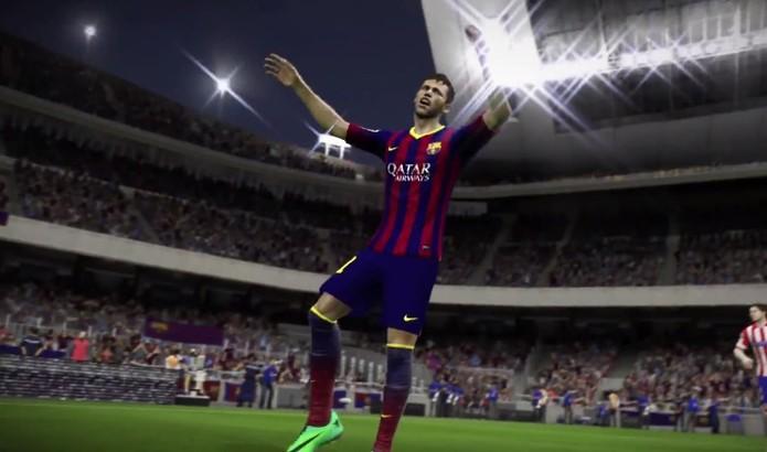 Vídeo traz reclamação de Neymar e outros jogadores (Foto: Reprodução/ Youtube)