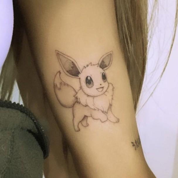 Nova tattoo de Ariana Grande (Foto: Instagram/Reprodução)