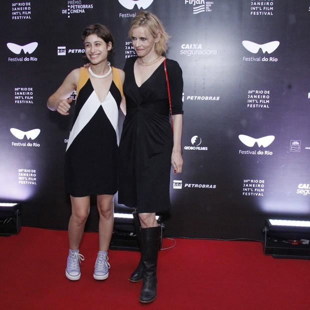 Luisa Arraes e Maria Luisa Mendonça  (Foto: Wallace Barbosa/AgNews)
