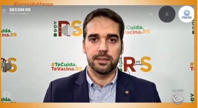 'A situação é muito crítica e nós precisamos do comprometimento de cada um', diz governador do RS, Eduardo Leite, sobre coronavírus