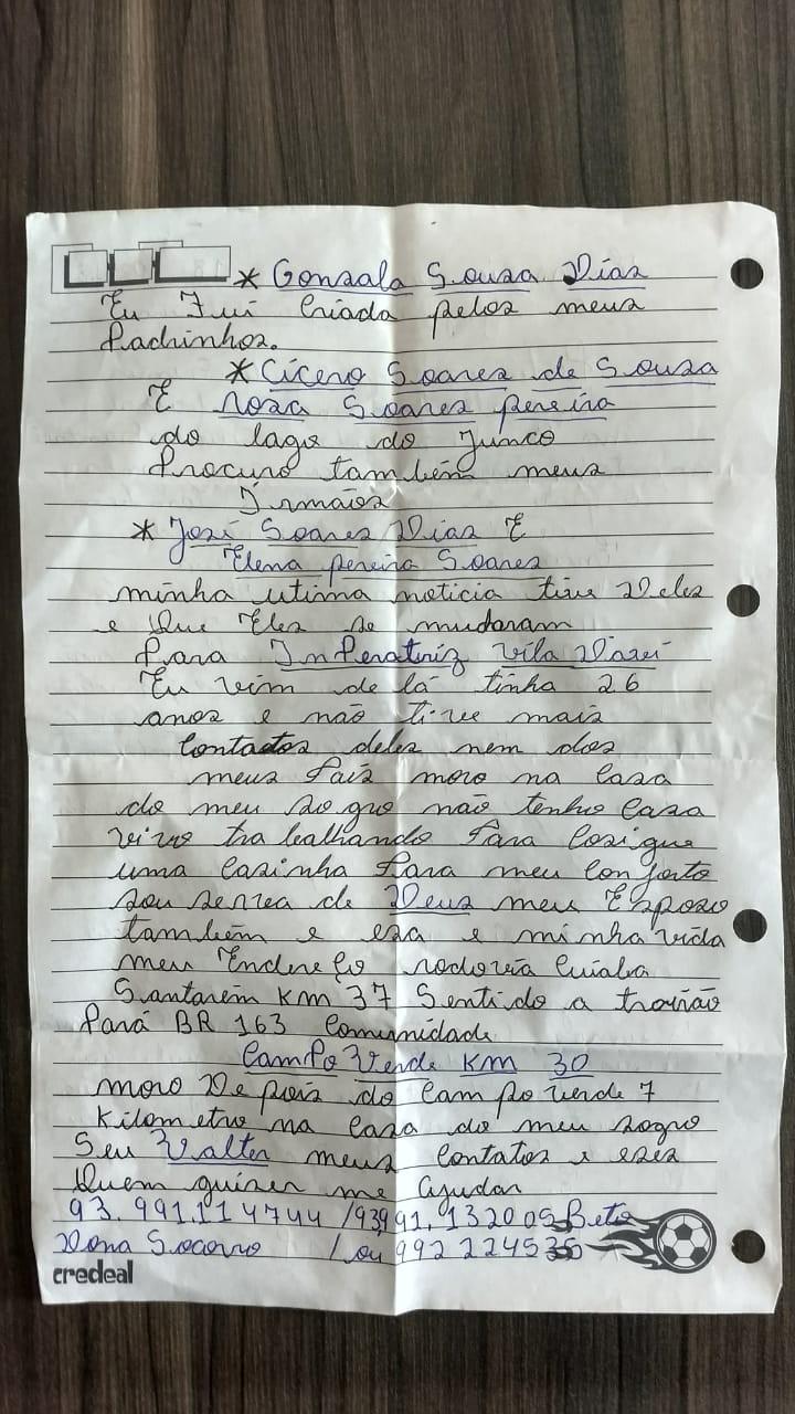 carta-lavradora-caminhos da safra (Foto: Ed. Globo)